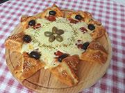 Pizza cvet