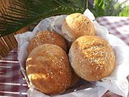 Posni hlebčići bez belog brašna